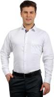 Solemio Formal Shirts (Men's) - Solemio Men's Solid Formal White Shirt