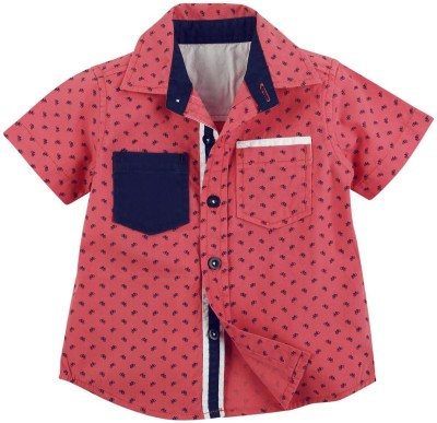 Fisher-Price Baby Boy's Printed Casual Red Shirt
