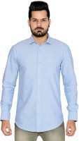 Thinc Formal Shirts (Men's) - Thinc Men's Solid Formal Blue Shirt