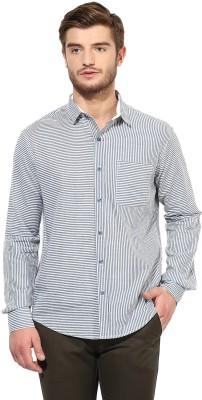 Srota Men's Striped Casual Reversible Multicolor Shirt