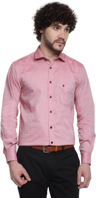 D,INDIAN CLUB Men's Solid Formal Multicolor Shirt
