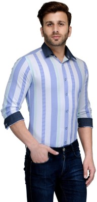 Edjoe Men's Solid Casual Multicolor Shirt
