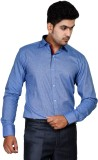 Tailor Craft Men's Solid Casual Blue Shi...