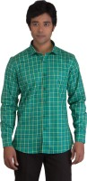 Bearberry Formal Shirts (Men's) - BearBerry Men's Checkered Formal Multicolor Shirt