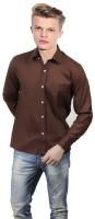 Atul Formal Shirts (Men's) - ATUL Men's Solid Formal Brown Shirt