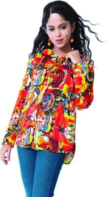 GardenVareli Women's Printed Casual Multicolor Shirt