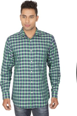 SmartCasuals Men's Solid Casual Blue, Green Shirt