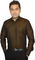 Stylofashiongarments Formal Shirts (Men's) - StyloFashionGarments Men's Solid Formal Brown Shirt