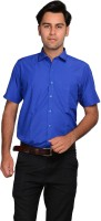 Mild Kleren Formal Shirts (Men's) - Mild Kleren Men's Solid Formal Blue Shirt