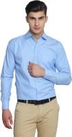 Van Galis Formal Shirts (Men's) - Van Galis Men's Solid Formal Light Blue Shirt