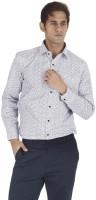 Silkina Formal Shirts (Men's) - Silkina Men's Floral Print Formal White Shirt