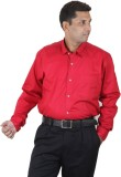 Ignu Men's Solid Casual Red Shirt