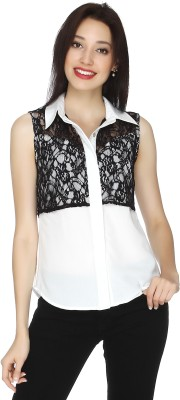 20 Dresses Women's Solid Casual White, Black Shirt