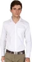 Jaabili Formal Shirts (Men's) - Jaabili Men's Solid Formal White Shirt