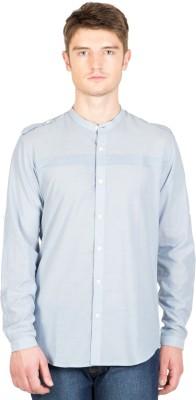 NFC Men's Solid Casual Light Blue Shirt