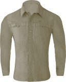 Wildcraft Men's Solid Casual Green Shirt