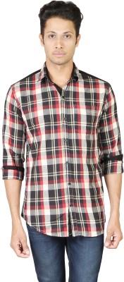 Eighty Eight Men's Checkered Casual Multicolor Shirt