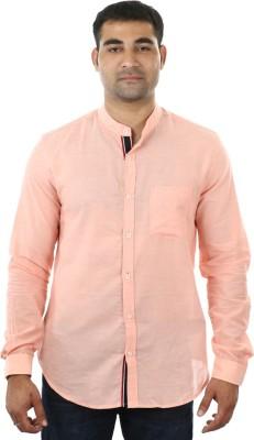 I cube club Men's Solid Casual Pink Shirt