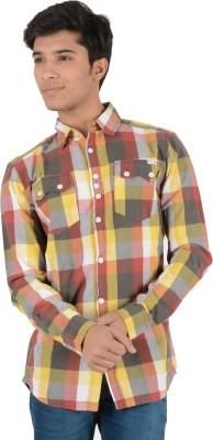 Yellow Tree Men's Checkered Casual Multicolor Shirt
