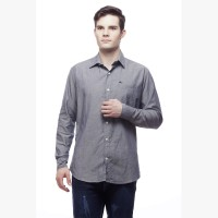 Rak001 Formal Shirts (Men's) - RAK001 Men's Solid Formal Grey Shirt