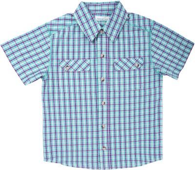 ShopperTree Boy's Checkered Casual Multicolor Shirt
