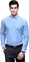 The Greek Formal Shirts (Men's) - The GreeK Men's Solid Formal Light Blue Shirt