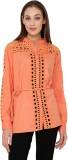 Rena Love Women's Solid Casual Orange Sh...