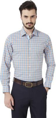 Peter England Men's Checkered Casual Multicolor Shirt