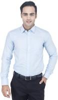 Euromens Formal Shirts (Men's) - Euromens Men's Solid Formal Blue Shirt