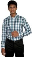 Strawberry Formal Shirts (Men's) - Strawberry Men's Checkered Formal Multicolor Shirt
