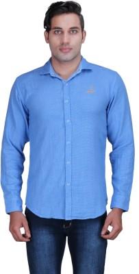 Alamurit Men's Solid Casual Reversible Light Blue Shirt