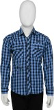 Buds N Blossoms Boys Checkered Casual Bl...