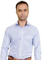 Srjls Formal Shirts (Men's) - Srjls Men's Striped Formal White Shirt