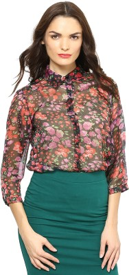Species Women,s Floral Print Casual Multicolor Shirt