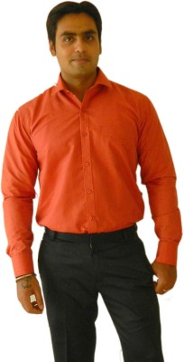 Jeffrey Rozers Men's Solid Formal Multicolor Shirt