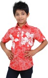 Zeal Boys Floral Print Casual Red, White...