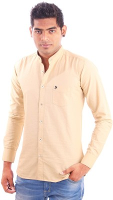 Paelilo Men's Solid Casual Shirt