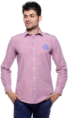 Tog Men's Solid Casual Purple Shirt