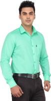 Fluteman Formal Shirts (Men's) - Fluteman Men's Solid Formal Light Green Shirt