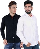 Rakshita Collection Men's Solid Casual M...