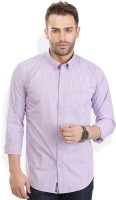 Urban Attire Formal Shirts (Men's) - Urban Attire Men's Checkered Formal Purple Shirt