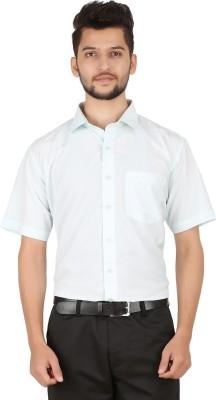 Stylo Shirt Men's Solid Formal Blue Shirt