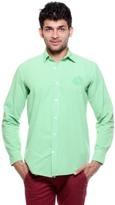Tog Men's Checkered Casual Green Shirt