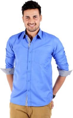 S9 Men Elegant 15 IB Men's Solid Casual Shirt