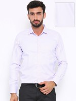 Shaftesbury London Formal Shirts (Men's) - Shaftesbury London Men's Solid, Checkered Formal White Shirt