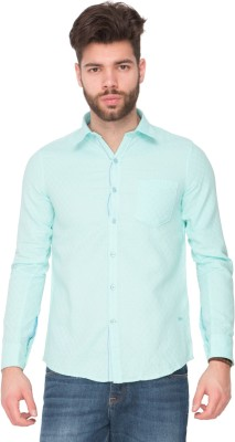 Newyorker Men's Solid Casual Light Green Shirt