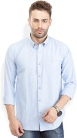 Urban Attire Formal Shirts (Men's) - Urban Attire Men's Solid Formal Blue Shirt
