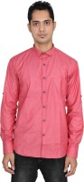 Attrayant Formal Shirts (Men's) - Attrayant Men's Solid Formal Red Shirt