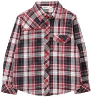 Beebay Baby Boys Checkered Casual Red Shirt
