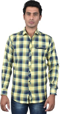Royal Crown Men's Checkered Casual Multicolor Shirt